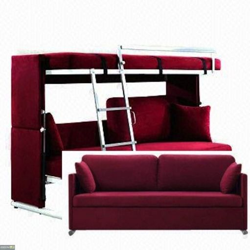 sofa that converts to bunk beds