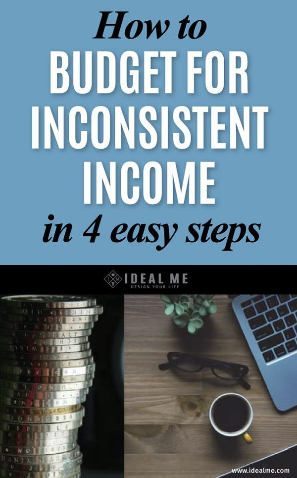 You have to know what's coming in and going out to successfully control your financial future. Learn how to easily budget for inconsistent income so you can manage your finances successfully and simply.