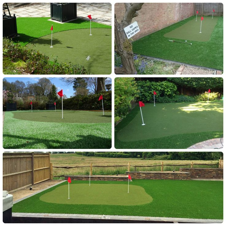 Perfect Putting Greens!