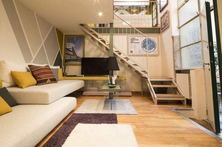 Airbnb'deki bu harika kayda göz atın: Design flat with spa in the centre of Milan - Milano şehrinde Kiralık Apartman daireleri