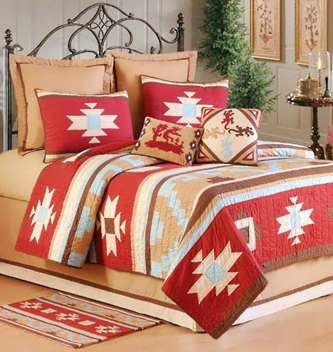 southwest colors bedding