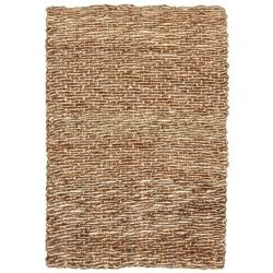 @Overstock - The Devi Natual Fiber rug has a textured weave. The Devi rug features the silken curls of coir and the lustrous strands of jute, both extraordinarily durable natural fibers.http://www.overstock.com/Home-Garden/Devi-Natural-Tan-Coir-and-Jute-Rug-5-x-8/6265329/product.html?CID=214117 $162.99