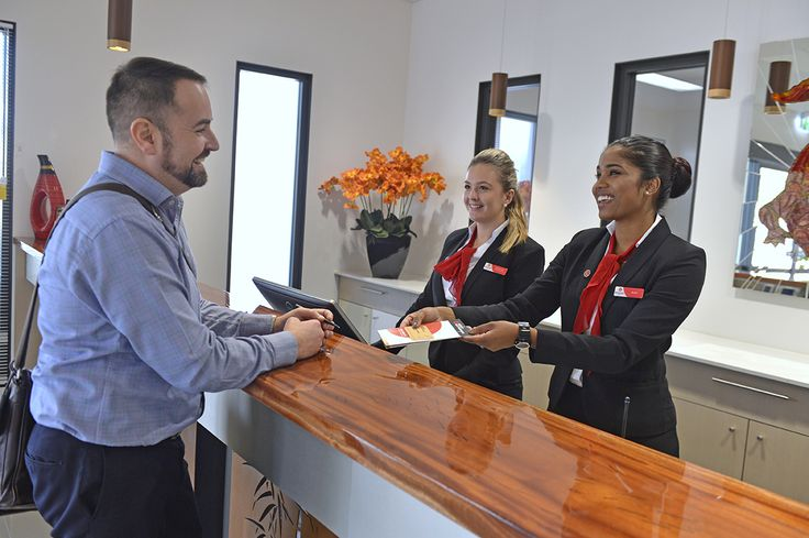 Check in at Rydges Palmerston Darwin