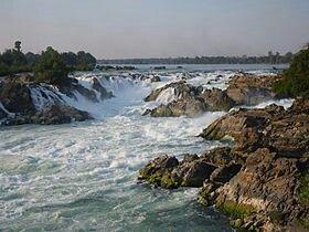 Khone Phapheng Falls, Mekong River, Champasak Province, Laos.