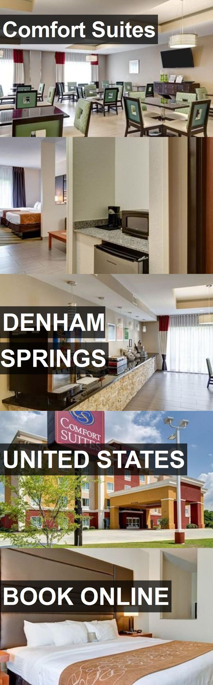 Hotel Comfort Suites in Denham Springs, United States. For more information, photos, reviews and best prices please follow the link. #UnitedStates #DenhamSprings #travel #vacation #hotel