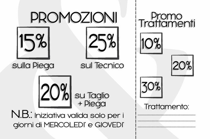CLIENTE: Tagli&Dettagli - Rosanna Fattorini LAVORO: Grafica e Stampa Promo Card retro