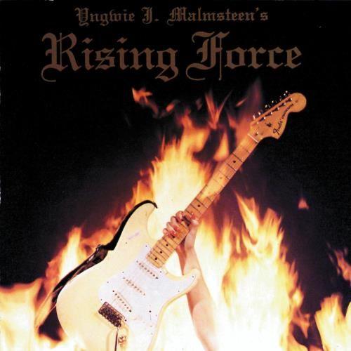 """RECENSIONE: Yngwie J. Malmsteen ((Rising Force)) L'esordio del solista per antonomasia, Yngwie J. Malmsteen, si presentò sin da subito come un lavoro incredibilmente innovativo ed importante, una vera e propria pietra miliare per uno stile chitarristico che di lì a poco avrebbe fatto ampi proseliti. """"Rising Force"""", datato 1984, ebbe il merito di spalancare le porte per l'arrivo dei """"guitar heroes"""" e contemporaneamente di teorizzare in via definitiva un nuovo sottogenere dell'Heavy Metal:"""