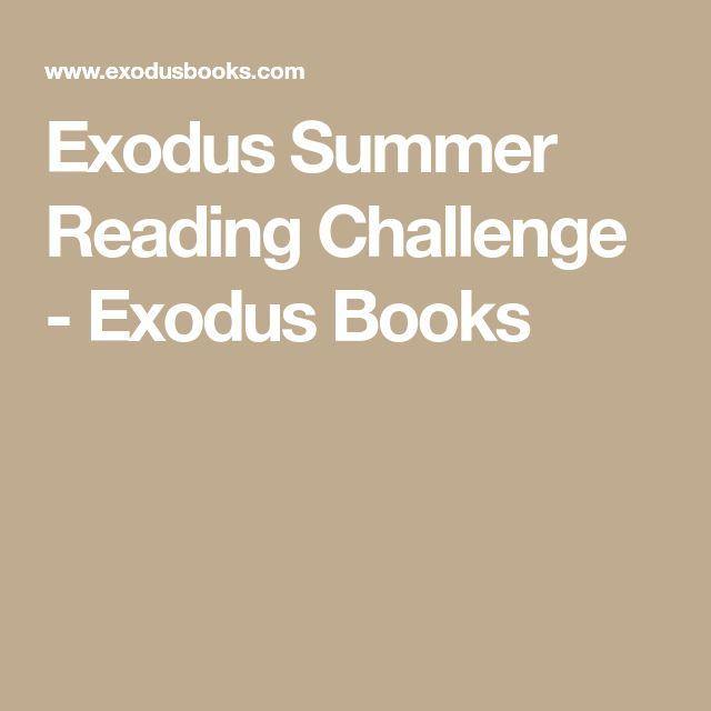 Exodus Summer Reading Challenge - Exodus Books