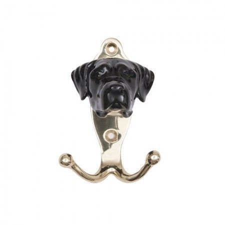 Porcelain Black Labrador Hook - £36.99