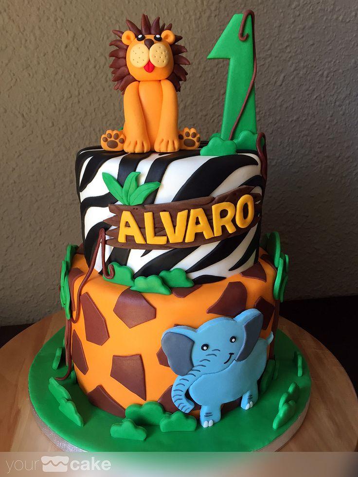 Your Cake. Tarta Selva. Jungle cake                                                                                                                                                                                 Más