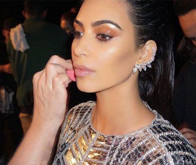 Kim Kardashian's make-up artist Mario Dedivanovic has revealed how he created her look for Kanye West's music video.