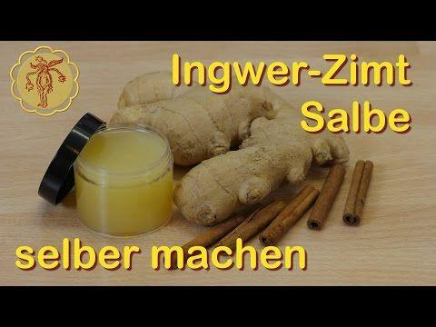 Video: Ingwer-Zimt-Salbe gegen kalte Füße selber machen