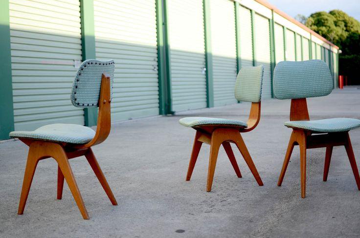 Vintage Fred Lowen Fler Form Line dining chair
