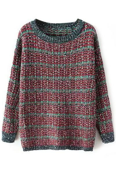 Essential Heather Knit SweaterOASAP Giveaway, 10 pieces per day, till the end of 2014! Easiest way to get free clothing!