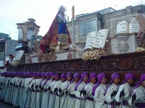 Mater Dolorosa semana santa en guatemala marchas funebres