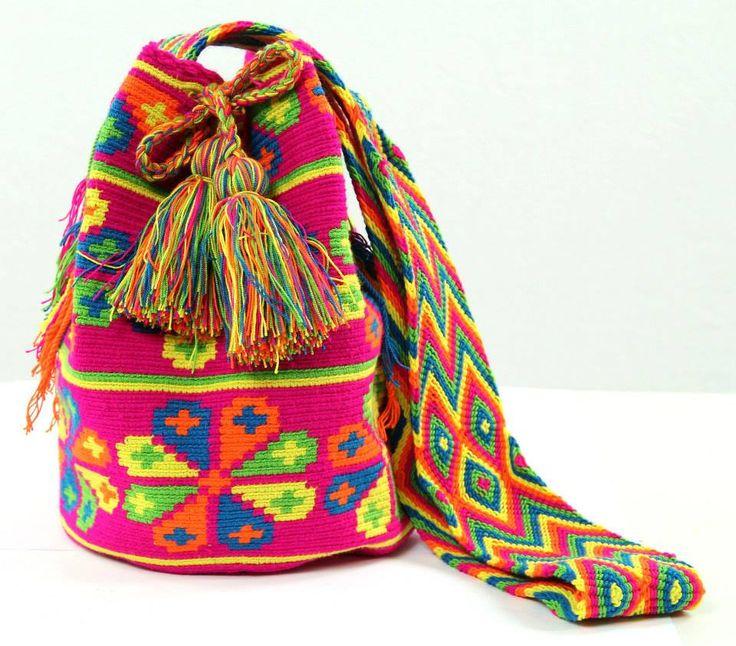 Psychedelic Tulips - Mochila Bag