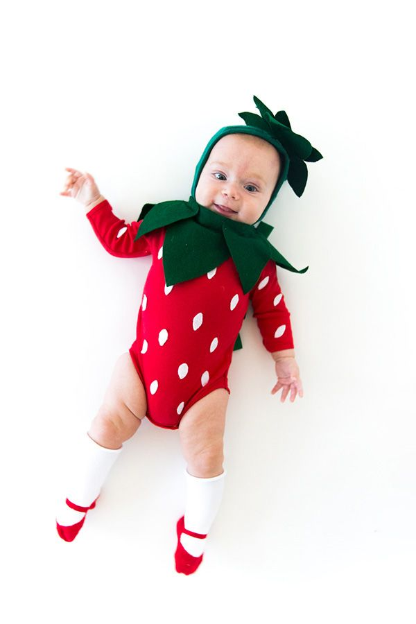 baby halloween costumes strawberry - Halloween Costumes That Are Cute