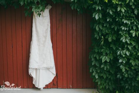 Erin's dress captured by the Carriage House! Photo Credit: Fostered Photo #barnwedding #cambiumfarms #countrywedding #torontoweddingvenue #DIY #farm #caledon #rustic