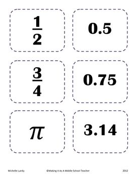 Here's a set of 30 Partner Picking Cards using Middle Grades Math content.  The math content is basic enough for most students to be able to use.  ...