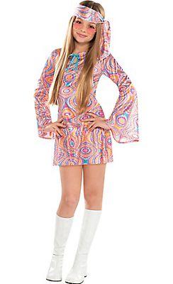 Girls Disco Diva Costume