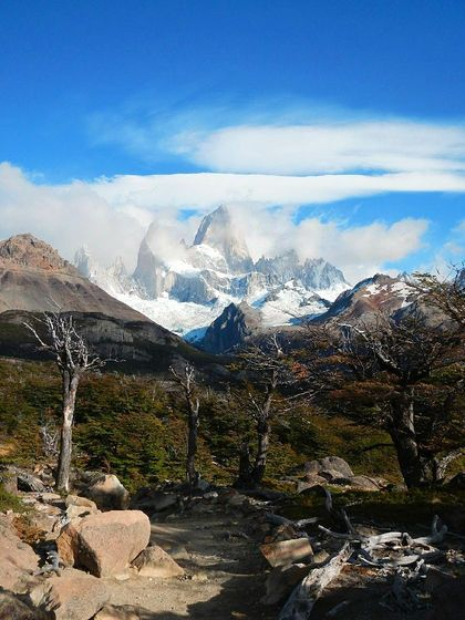 Monte Fitz Roy, Patagonia - Lord of the rings-style hiking