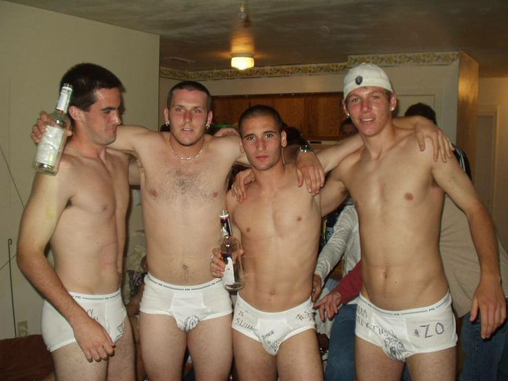 Nude men fraternity