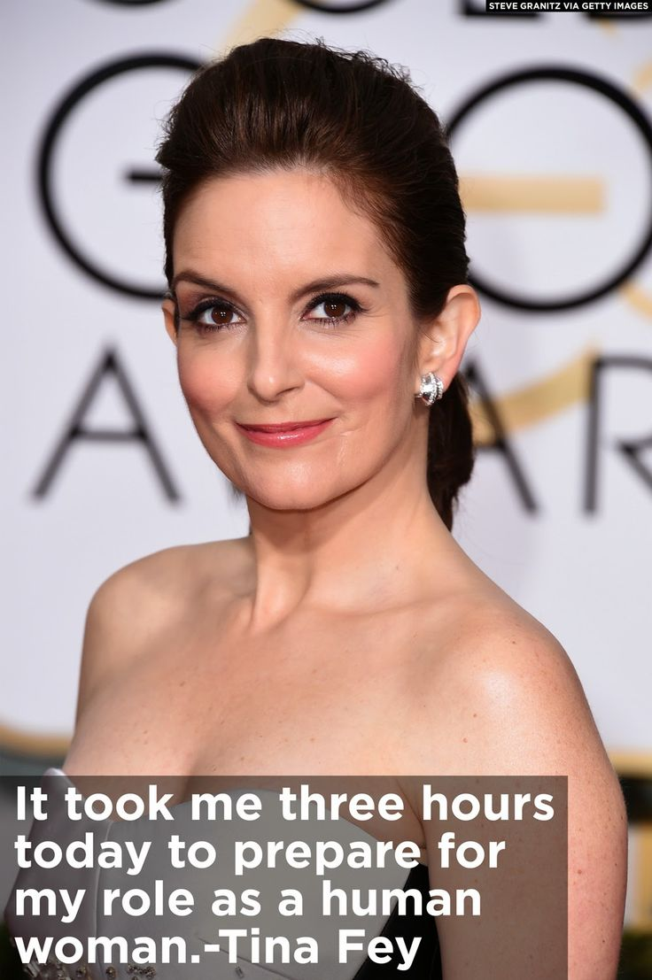 The always-hilarious Tina Fey