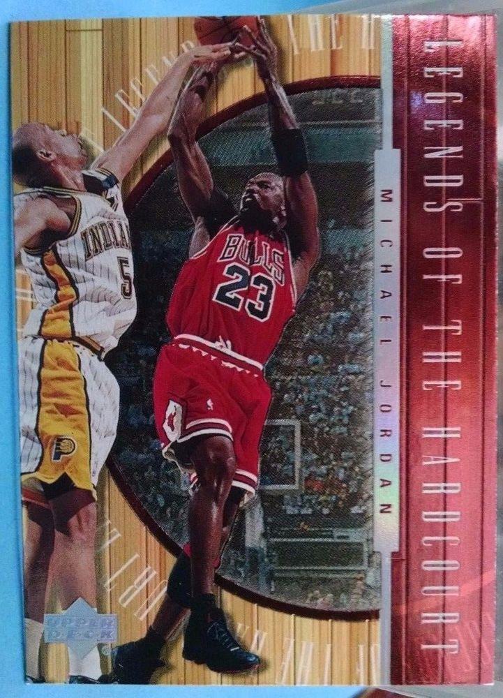 1999-00 Upper Deck Hardcourt Legends of the Hardcourt #L1 Michael Jordan bulls #ChicagoBulls