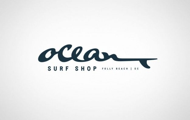 ocean surf shop branding by j fletcher