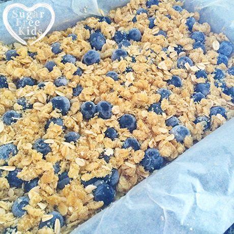 Easy Lunchbox Slice recipe | Sugar Free Kids