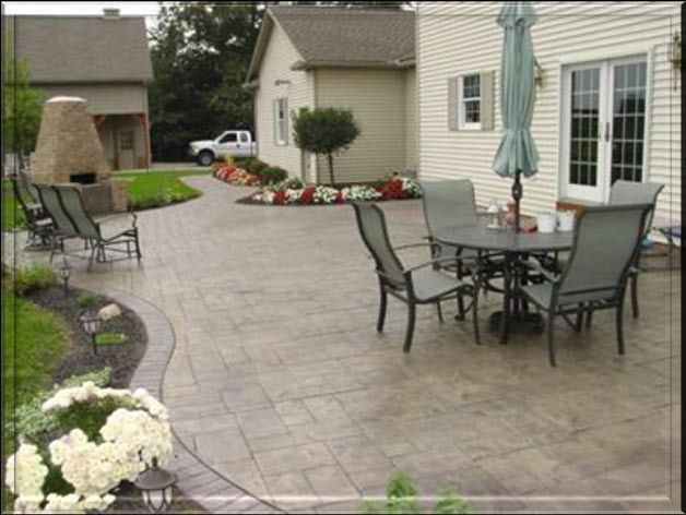32 best patio designs images on pinterest walkout basement patio