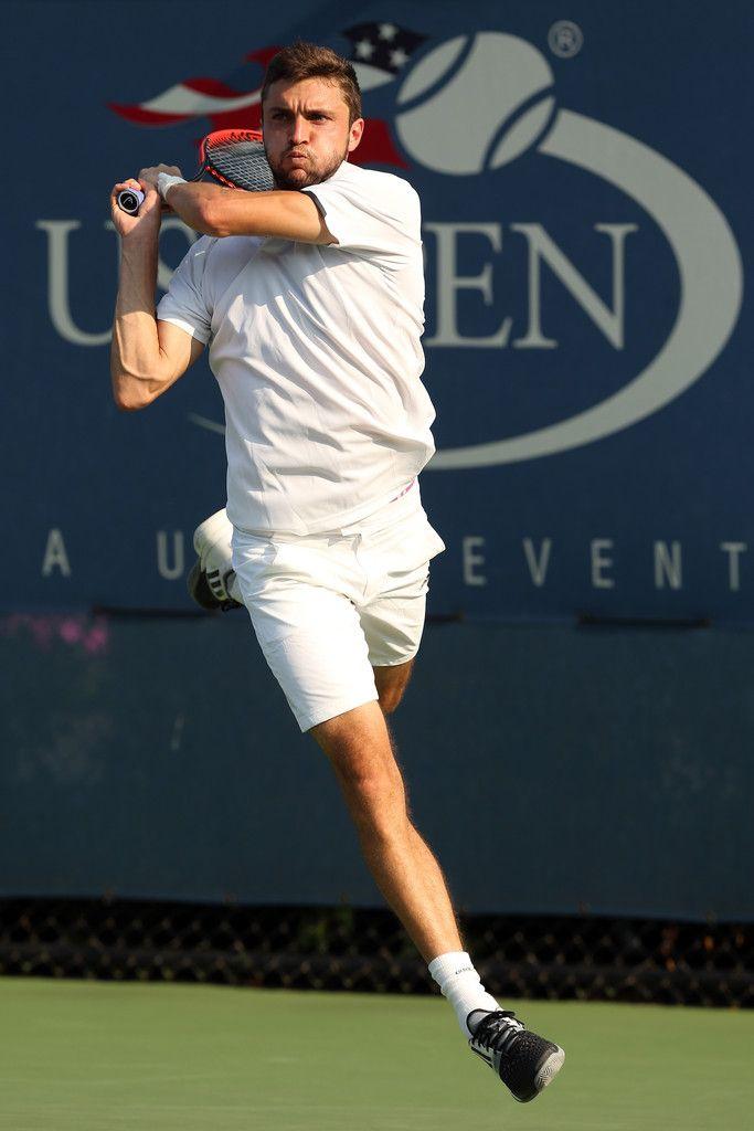 Gilles Simon of France Photos: US Open: Day 2
