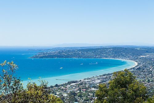 Mornington Peninsula on a beautiful spring day  Overlooking Dromana, Mt Martha, Mt Eliza and Mt Dandenong in the background. Mornington Peninsula, Victoria, Australia. | Flickr - Photo Sharing!