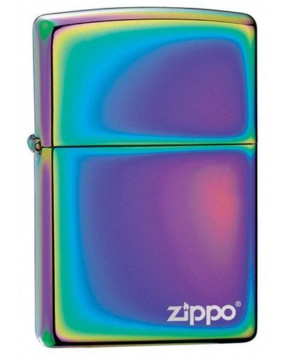 Zippo Spectrum Lighter Zippo Logo Flint Windproof Spectrum Finish -- Click image to review more details.