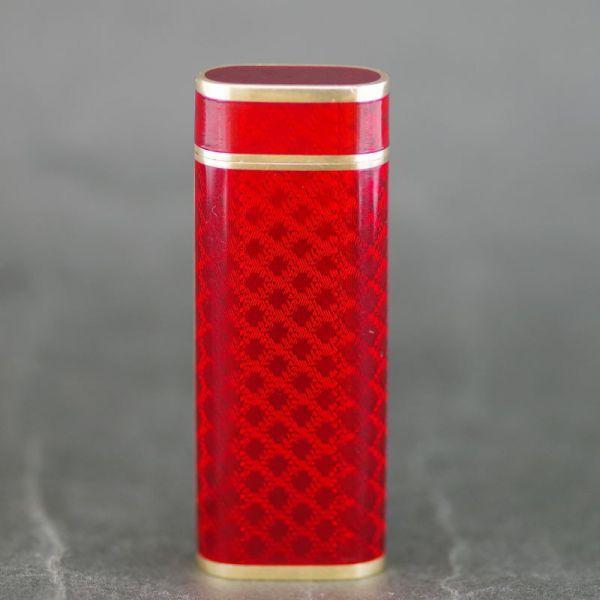 【中古】Cartier(カルティエ) K18 レッド ライター/K18にレッドのボディが高級感漂う逸品になります。/新品同様・極美品・美品の中古ブランドライターを格安で提供いたします。