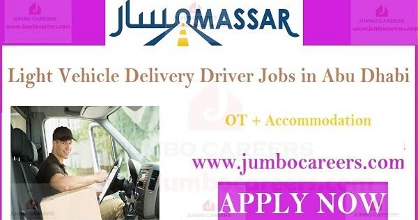 Delivery Driver Jobs In Abu Dhabi Driver Jobs In Abu Dhabi