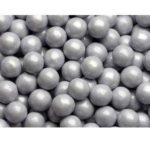 Sixlets Mini Milk Chocolate Balls - Silver: 2LB Bag