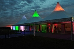 The Marquee for the White Tie and Diamonds party last year, the marquee from Highfield's looked totally amazing!