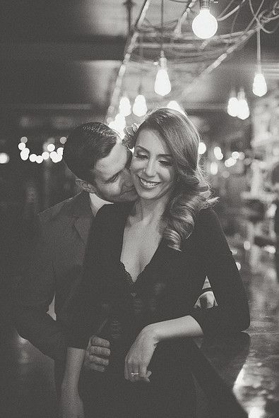 Old Hollywood Engagement Session, Romantic indoor photoshoot, engagement photo posing ideas, romantic images, emotional artist. Michelle Mez Photography.
