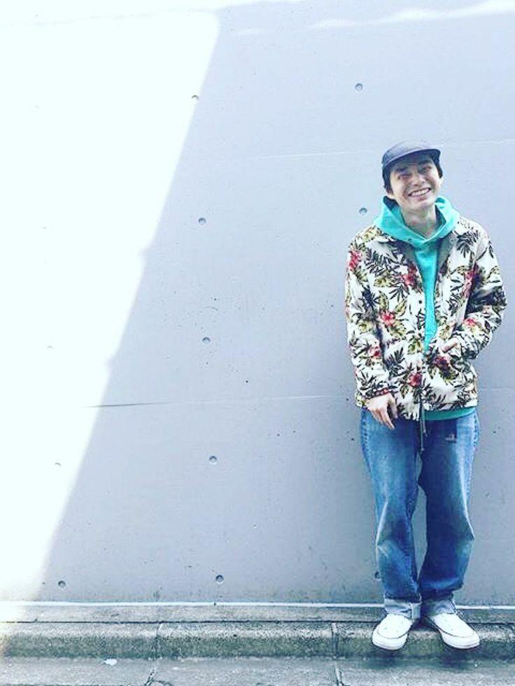 TAKAHIRO INOUEさんのブルゾン「Pilgrim Surf Supply Pilgrim Surf+Supply / MORRIS Reversible Coach Jacket」を使ったコーディネート