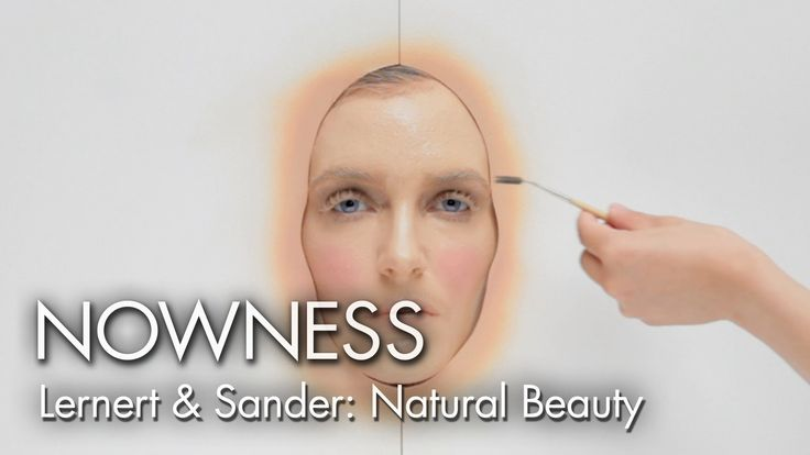 """Watch 365 layers of makeup applied in one day in """"Natural Beauty"""" by Ler..."""