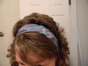 Celtic Knot Headband - Crochet Chain Stitch
