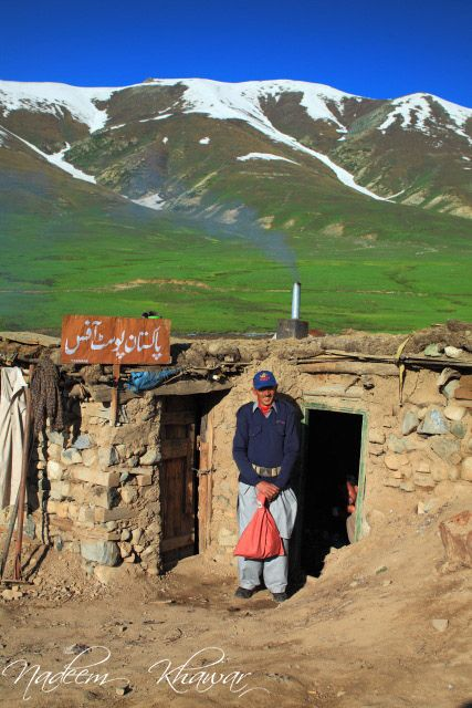 Highest Post office in Northern Pakistan. No postbox but a postoffice :)