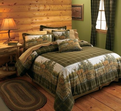 17 Best Images About Hunting Decor On Pinterest | Log Bed, Bed