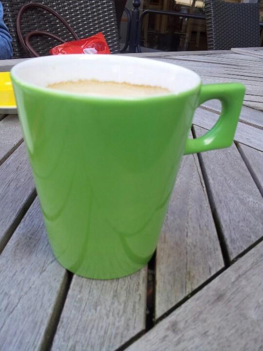 Frühstückskaffee bei Döbbe