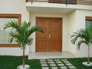 Solid Wood Entry Doors - tropical - front doors - other metro - DecoDesignCenter.com