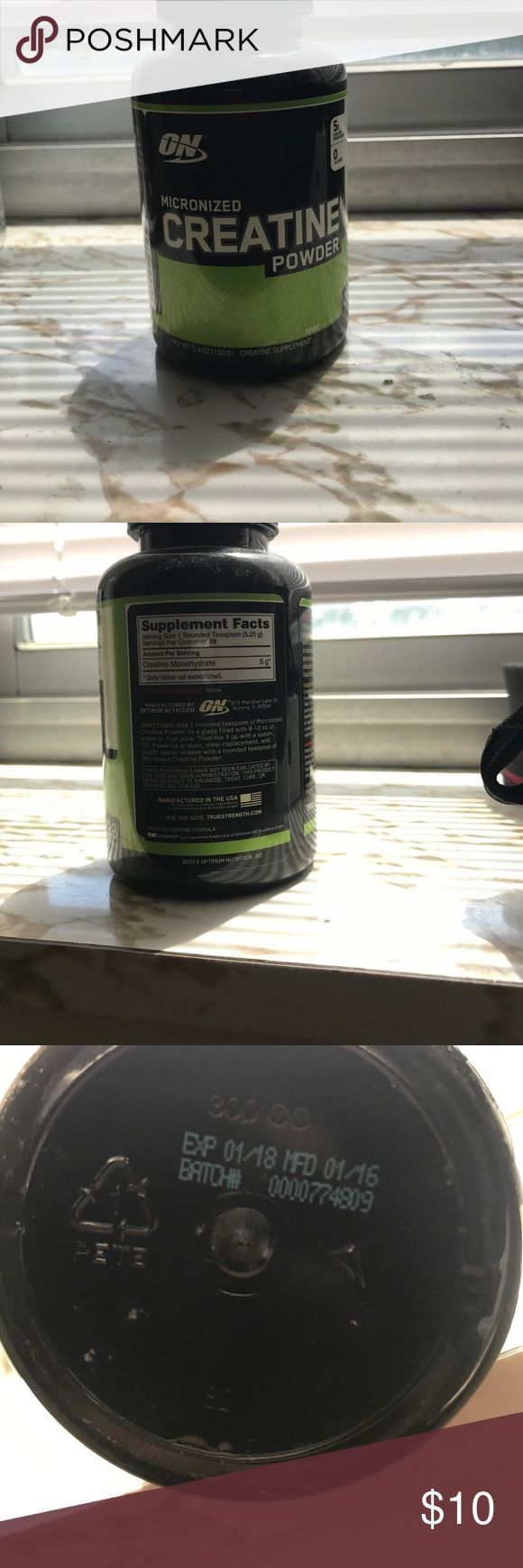 Micronized Creatine Powder Basically just bought this a few months ago. Never used it! Other