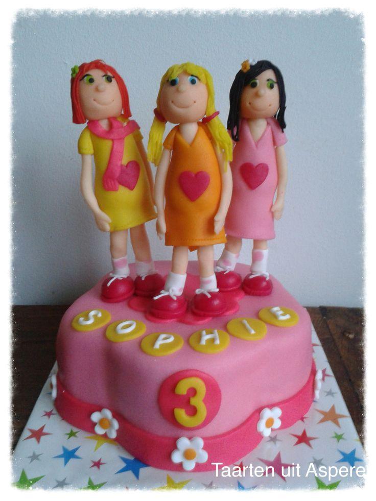 Een K3 taart voor Sophie