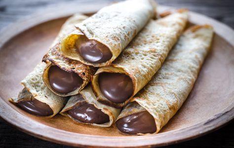 Csokikrémes palacsinta Recept képpel - Mindmegette.hu - Receptek