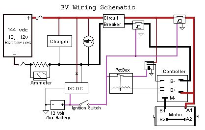 Wiring Diagram For Electric Scooter Electric scooter